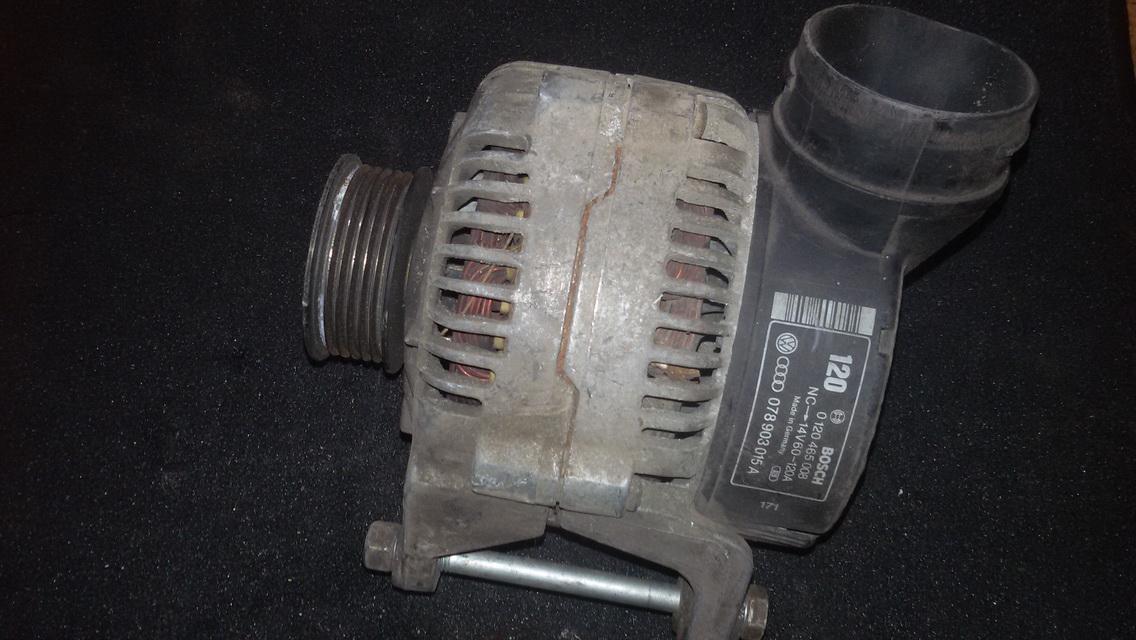 Generatorius 078903015a 0120465008 Audi 100 1987 2.0
