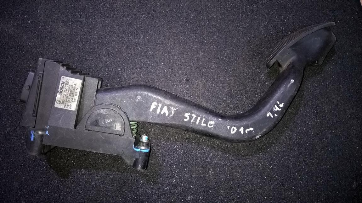 Elektrinis greicio pedalas 0280752232 46817003, 3801920141, 281603174 Fiat STILO 2002 1.6