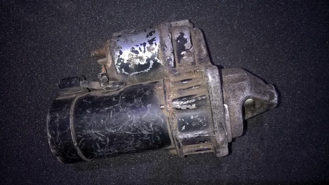 Starteris d6ra NENUSTATYTA Opel ASTRA 1994 1.7