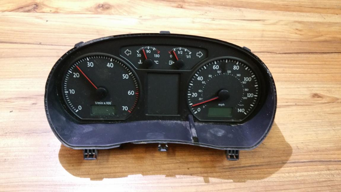 Spidometras - prietaisu skydelis 6q0920903j 1012060273 Volkswagen POLO 1993 1.0