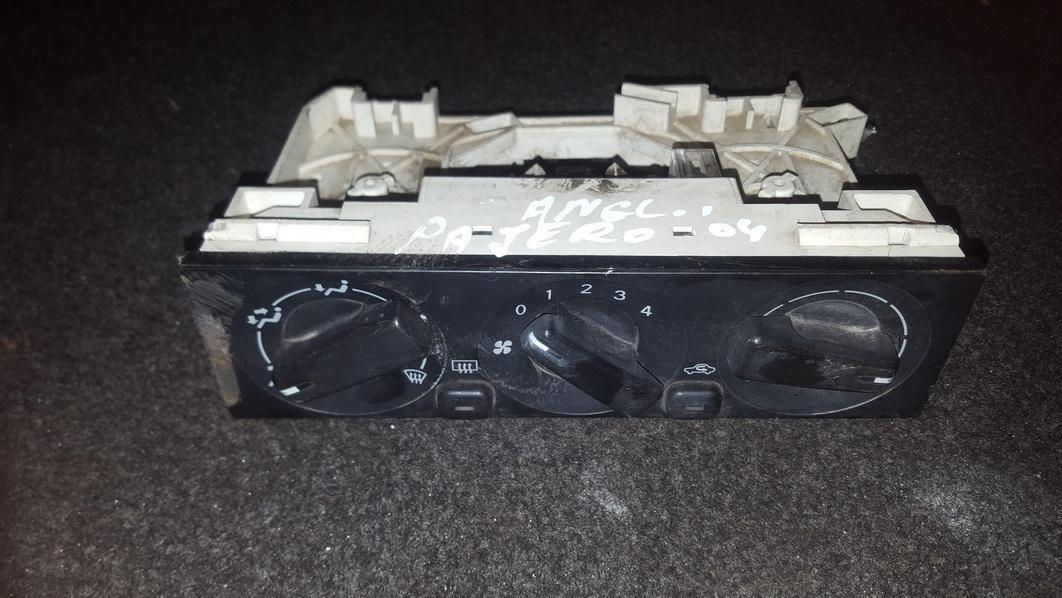 Peciuko valdymas e32pb393 ecmr2 Mitsubishi PAJERO 2002 2.5