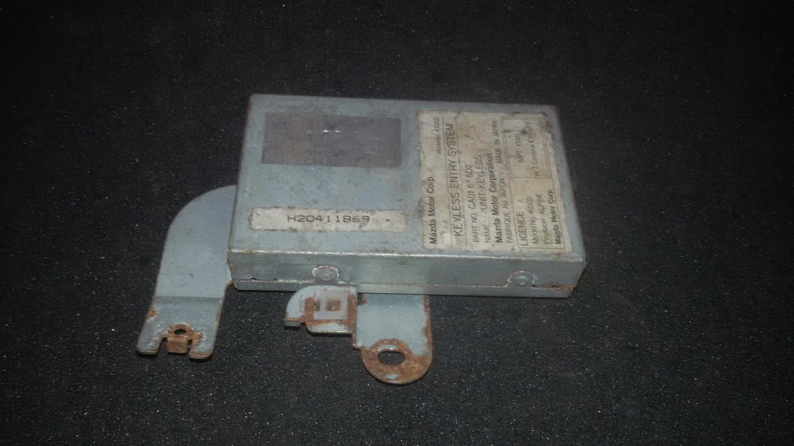 Kiti kompiuteriai ca01675d2 nenustatyta Mazda XEDOS-6 1992 2.0