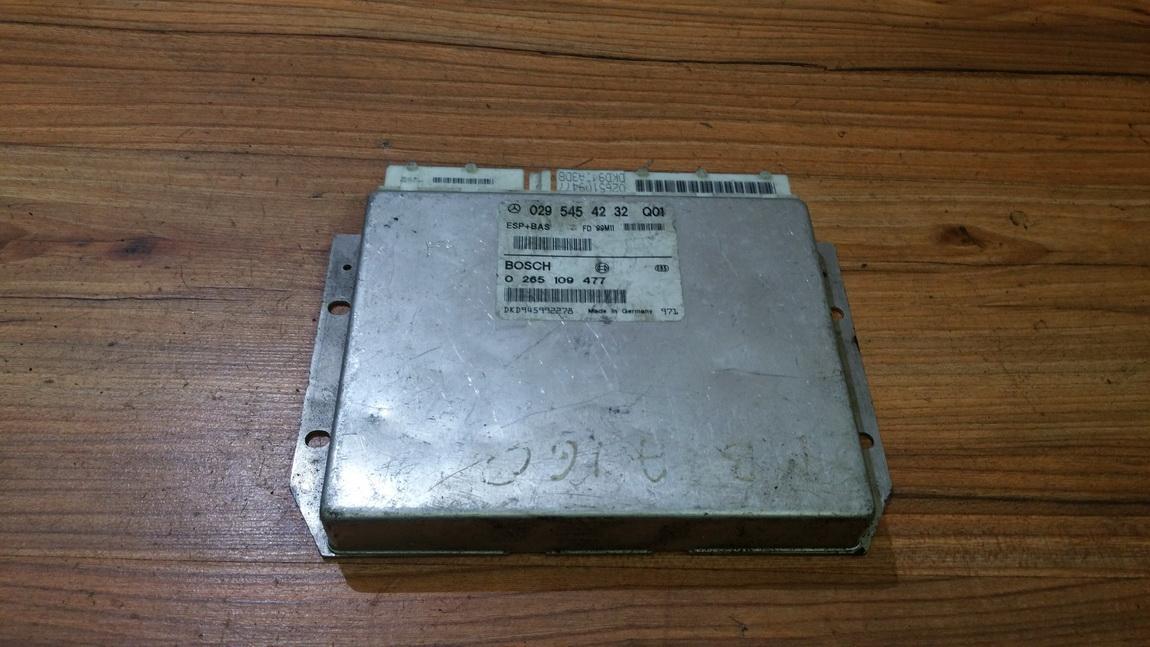 ESP PML BAS CONTROL UNIT ECU Mercedes-Benz A-CLASS 2000    1.7 0295454232