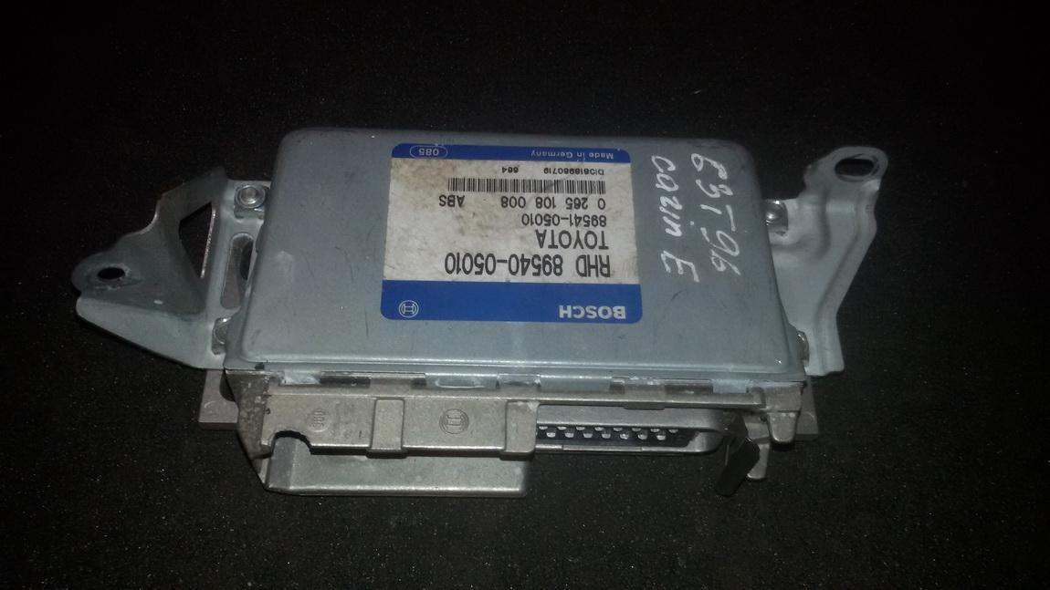 Блок управления АБС 8954005010 0265108008 Toyota CARINA 1994 1.6