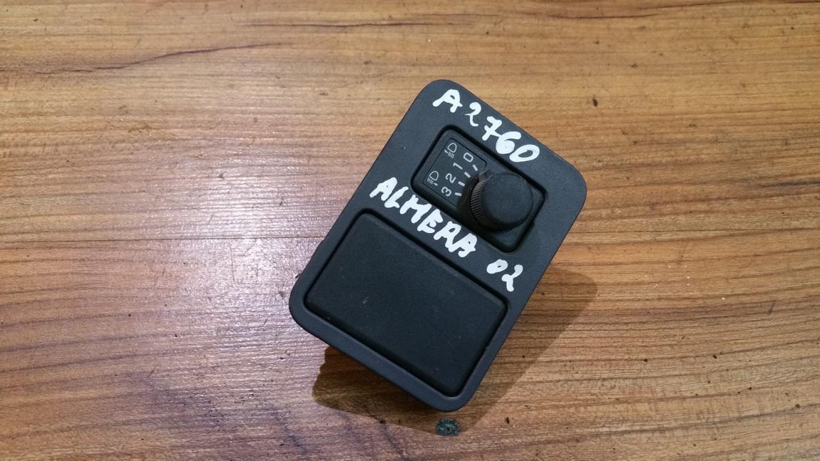 Zibintu aukscio reguliatoriaus mygtukas 6849390j00 68493-90j00 Nissan ALMERA 2001 1.8