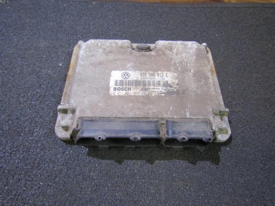 ECU Engine Computer (Engine Control Unit) 038906013e 0281001689 Volkswagen CADDY 2010 2.0