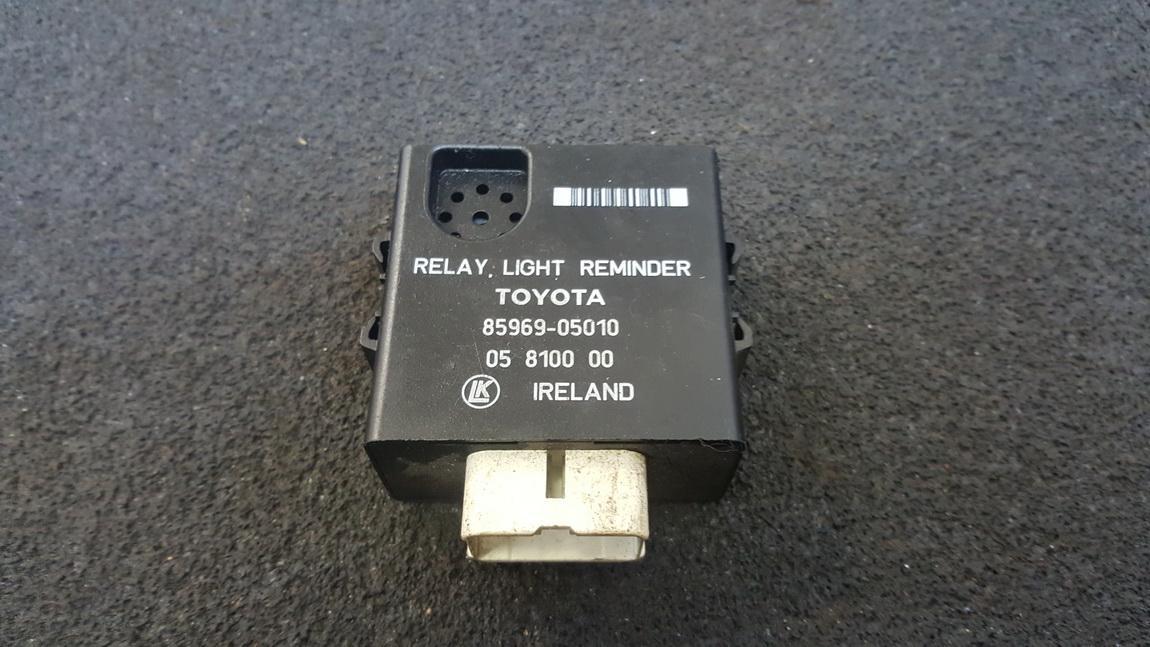 Kiti kompiuteriai 8596905010 85969-05010, 05 8100 00 Toyota CARINA 1991 2.0