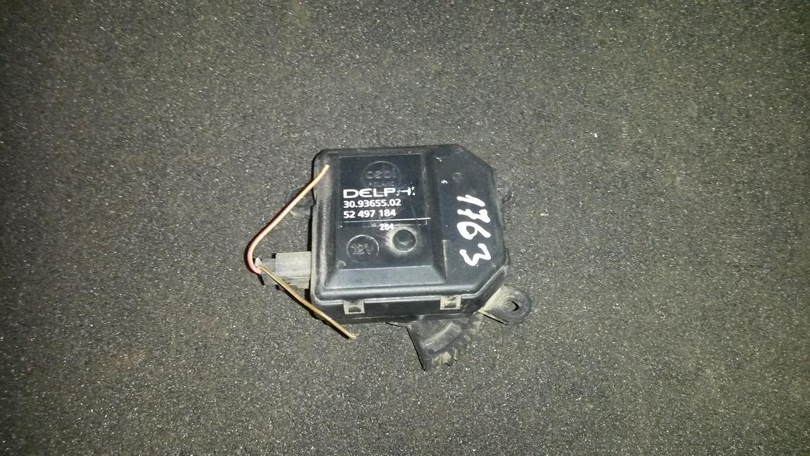 Peciuko sklendes varikliukas 309365502 52497184 Opel ASTRA 2002 1.7