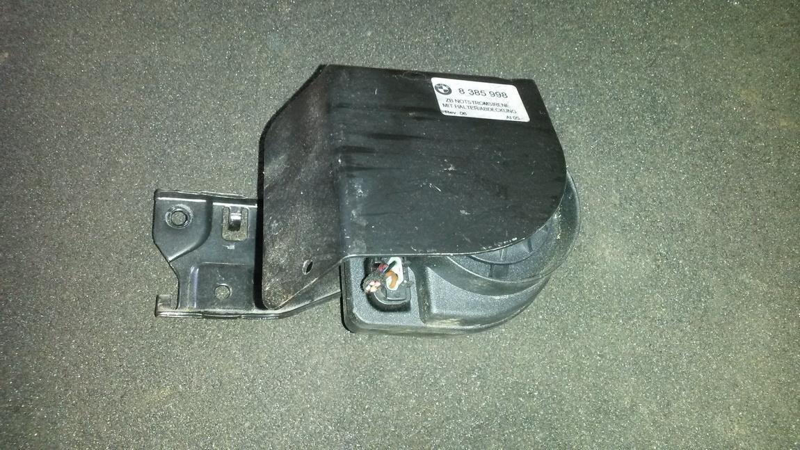 Garso signalas 8385998 8377290 BMW 3-SERIES 2000 1.9