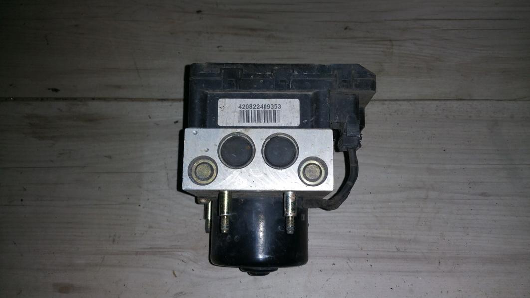 ABS Unit (ABS Brake Pump) 7M0614111P 98VW2L580AB, 100204-01524 Ford GALAXY 2001 2.3