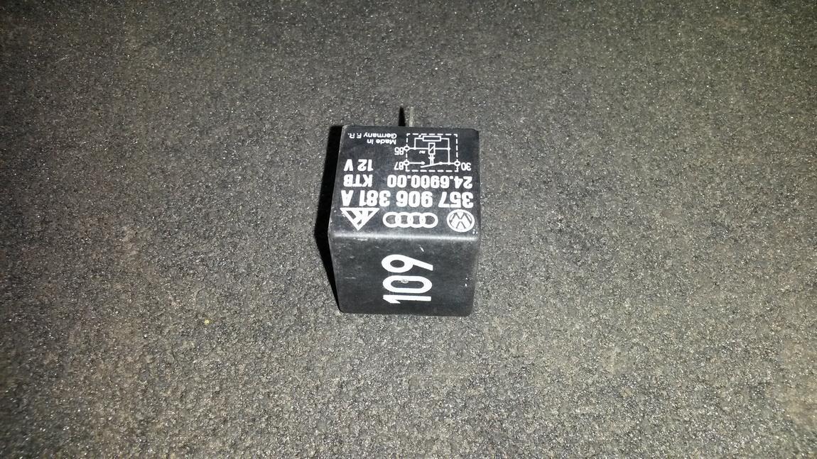 Relay module 357906381a 24.69000.00 Volkswagen CADDY 2010 2.0