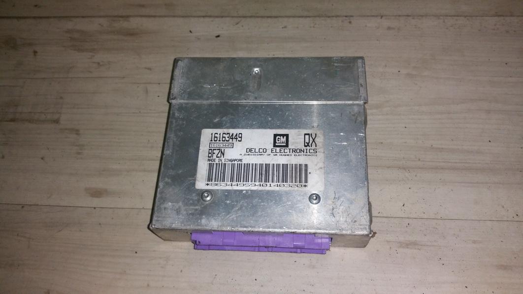 Variklio kompiuteris 16163449 16163449, bfzn,  qx Opel CORSA 2004 1.2
