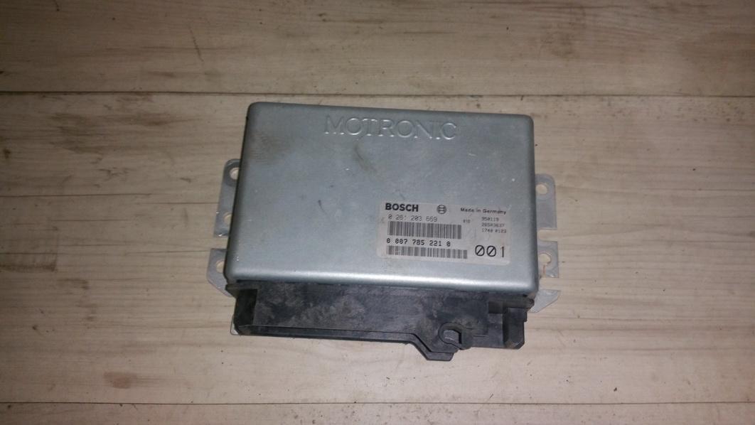 Variklio kompiuteris 0261203669 00077852210, 950119, 26sa3637, 001 Lancia KAPPA 1996 2.4