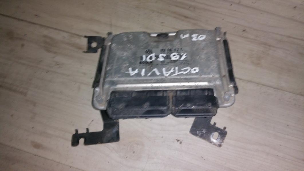 ECU Engine Computer (Engine Control Unit) 0281010105 038906012e, 11540307 Skoda OCTAVIA 1998 1.9