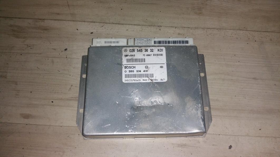 ESP PML BAS CONTROL UNIT ECU Mercedes-Benz A-CLASS 1998    1.4 0265453632