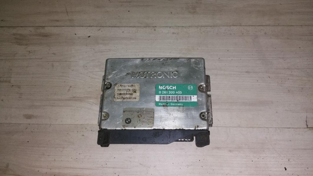 Variklio kompiuteris 0261200405 1735614,003, 078, 1735879, 1735614 BMW 5-SERIES 1997 2.5
