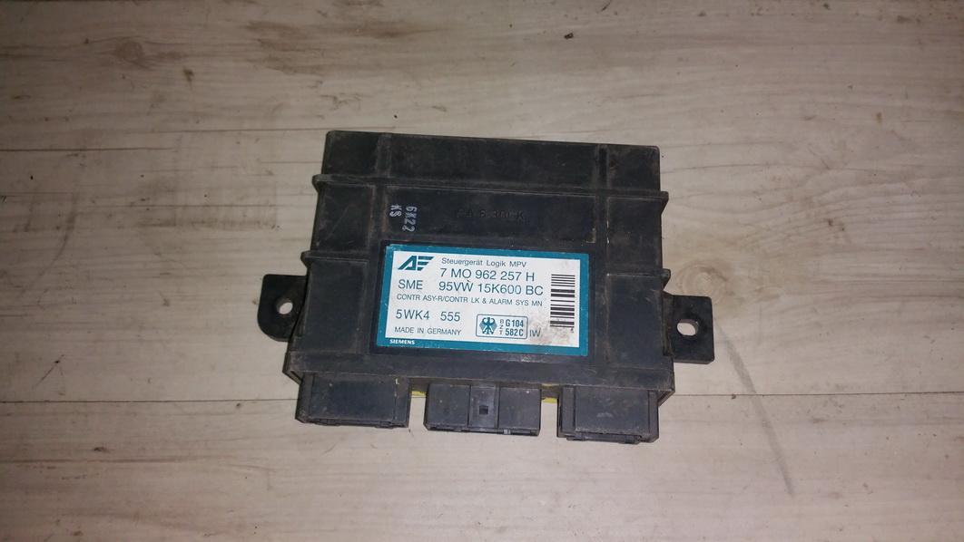 Komforto blokas 7m0962257h 95vw15k600bc, 5wk4555 Ford GALAXY 2004 2.8