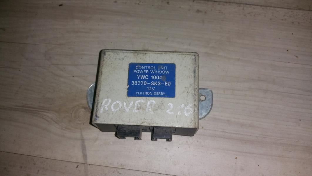 Electric window control unit Rover 200-Series 1997    1.6 ywc10044