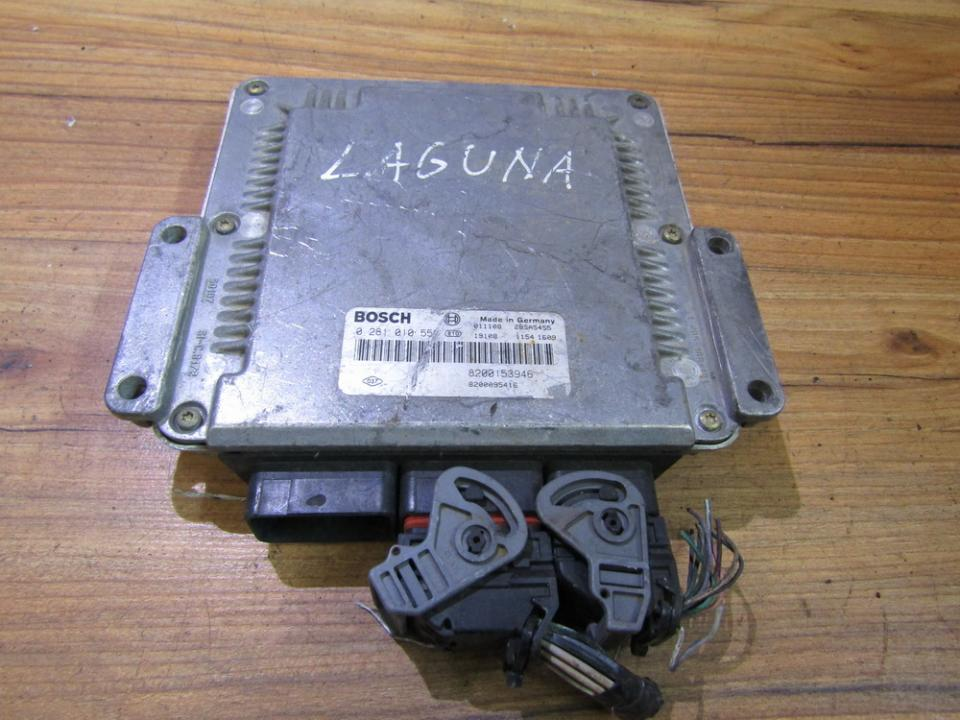 ECU Engine Computer (Engine Control Unit) 0281010556 8200153946 Renault LAGUNA 2002 1.9