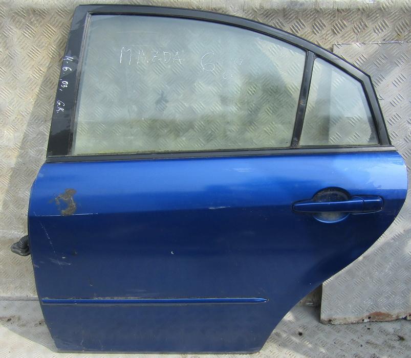 Durys G.K. NENUSTATYTA NENUSTATYTA Mazda 6 2002 2.3