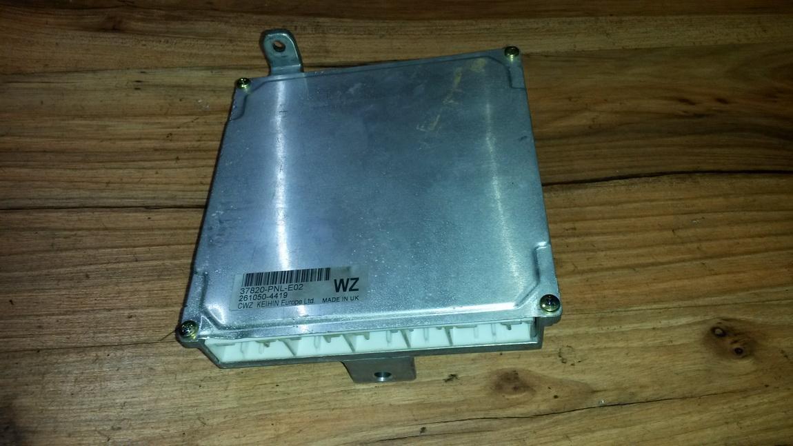 ECU Engine Computer (Engine Control Unit) 2610504419 37820-pnl-e02 Honda CR-V 2003 2.0