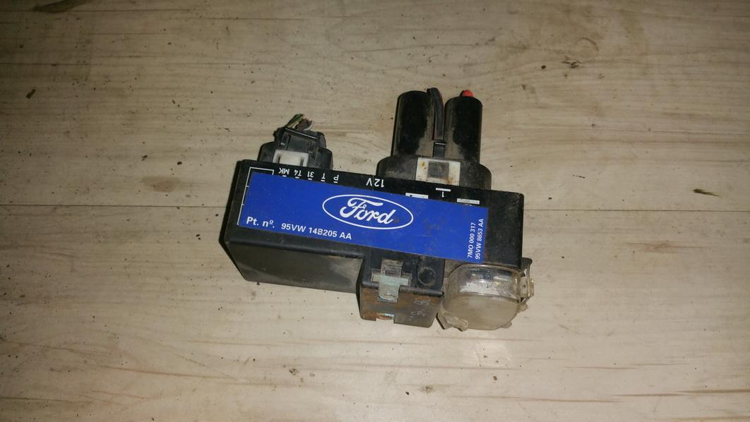 Blower Fan Regulator  7m0000317 95vw8653aa,95vw14b205aa Ford GALAXY 1996 2.0