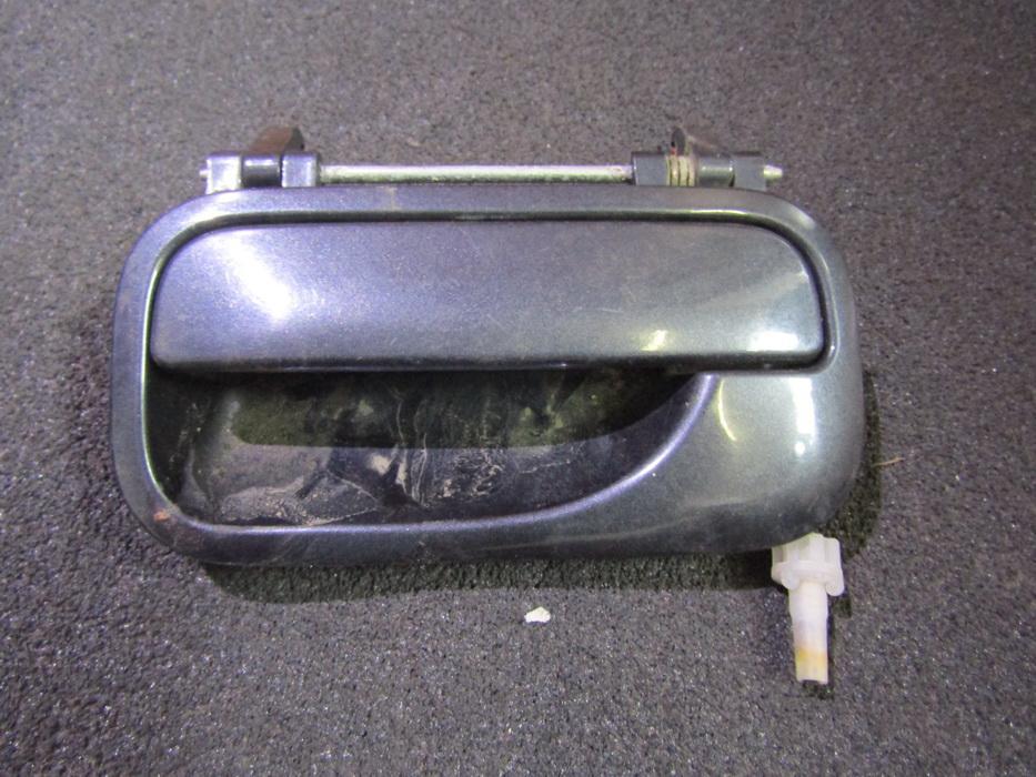 Door Handle Exterior, rear left side NENUSTATYTA NENUSTATYTA Opel VECTRA  2.0