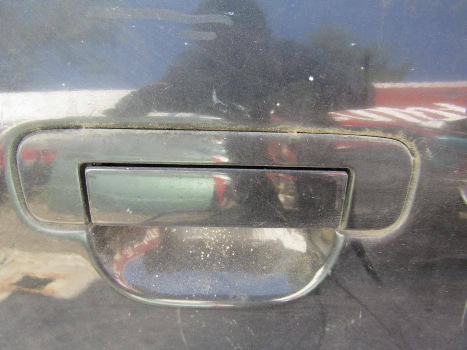 Duru isorine rankenele G.D. NENUSTATYTA NENUSTATYTA Audi A6 2005 3.0
