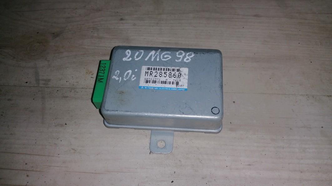 Kiti kompiuteriai mr285860 g0t12371, m7625, 0107 Mitsubishi GALANT 1999 2.0