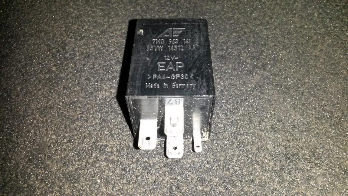 Relay module 7m0963141 95vw14512aa Ford GALAXY 2001 2.3