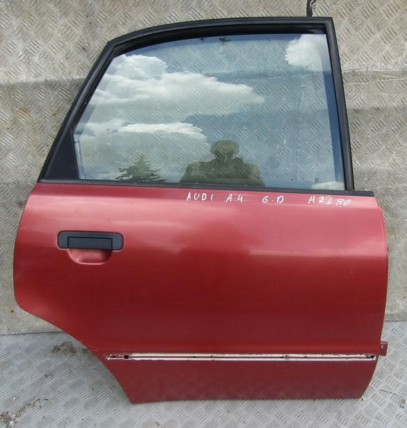 Durys G.D. RAUDONOS NENUSTATYTA Audi A4 2002 1.9