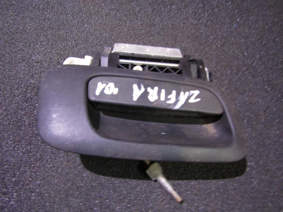 Duru isorine rankenele G.D. NENUSTATYTA NENUSTATYTA Opel ZAFIRA 2008 1.9