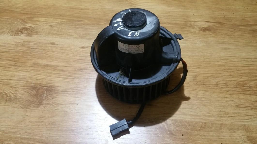 Salono ventiliatorius 357819021 3137020022 Volkswagen PASSAT 1997 1.8