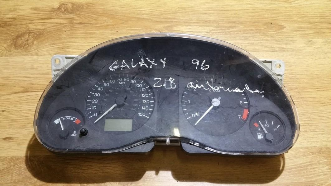 Speedometers - Cockpit - Speedo Clocks Instrument 95vw10849ea 95vw-10849-ea, 7m0919910k Ford GALAXY 1996 2.0