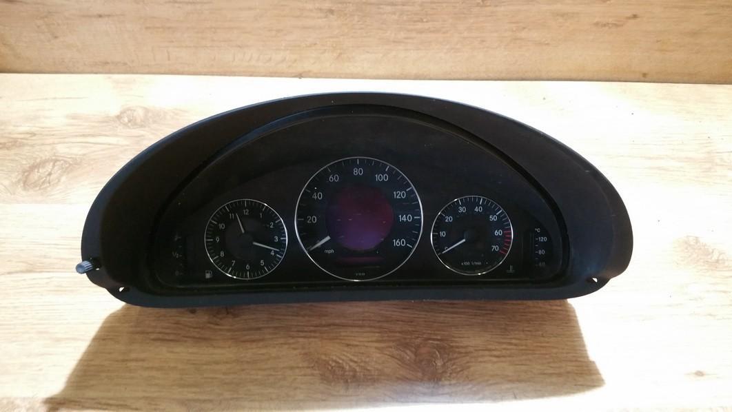 Spidometras - prietaisu skydelis a2095403311 110080251003 Mercedes-Benz CLK-CLASS 1998 2.3