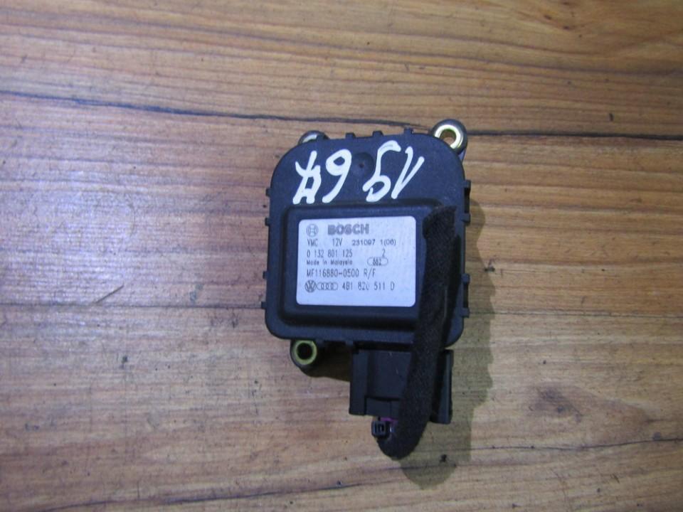 Heater Vent Flap Control Actuator Motor 0132801125 4b1820511d Audi A6 1998 2.5