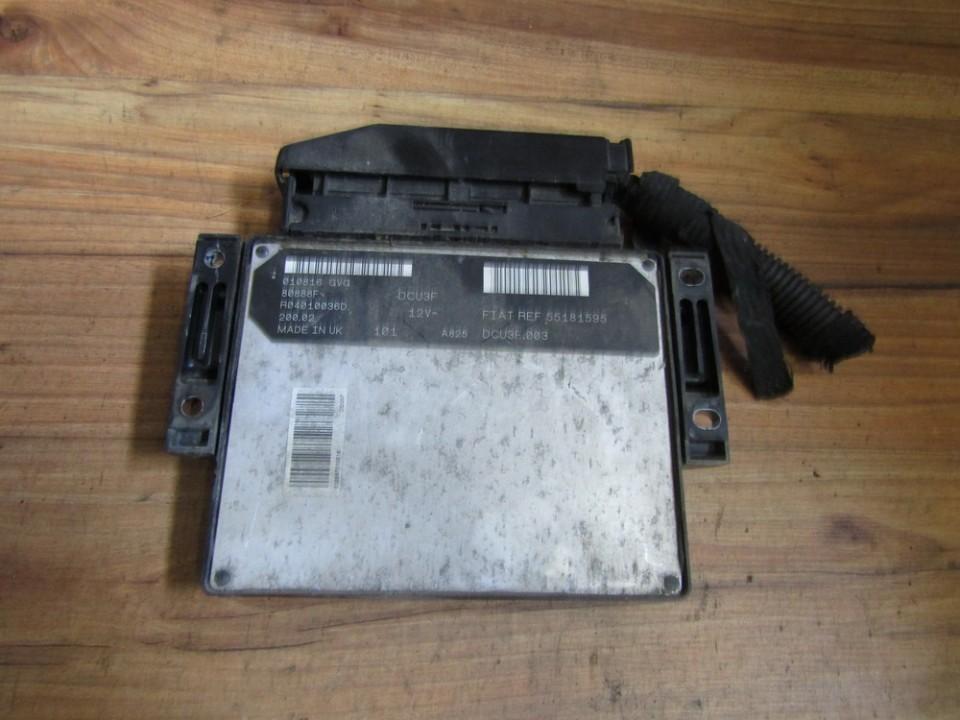 Variklio kompiuteris 55181595 r04010036d Fiat DOBLO 2008 1.3