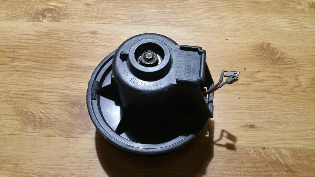 Вентилятор салона 191819021 881034735, aeg Volkswagen GOLF 1994 1.9