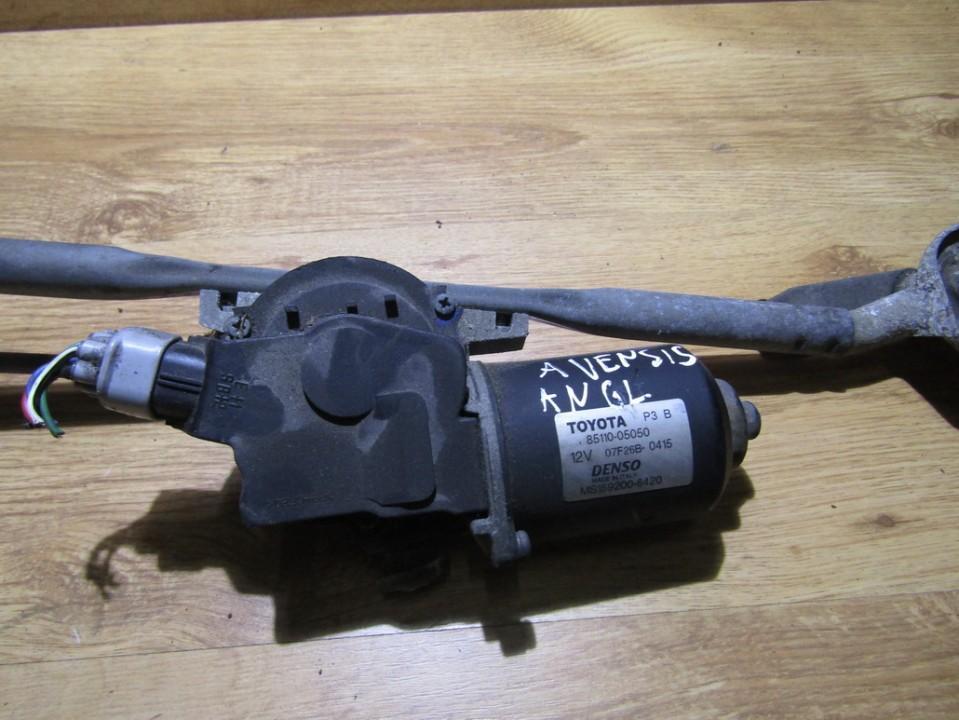 Priekinis langu valytuvu varikliukas 8511005050 85110-05050, ms159200-6420 Toyota AVENSIS 2011 2.0