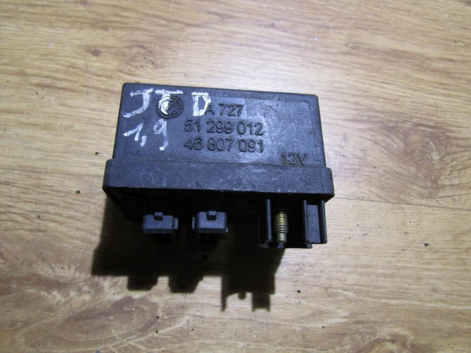 блок управления свечами накаливания 51299012 46807091 Fiat DOBLO 2007 1.3