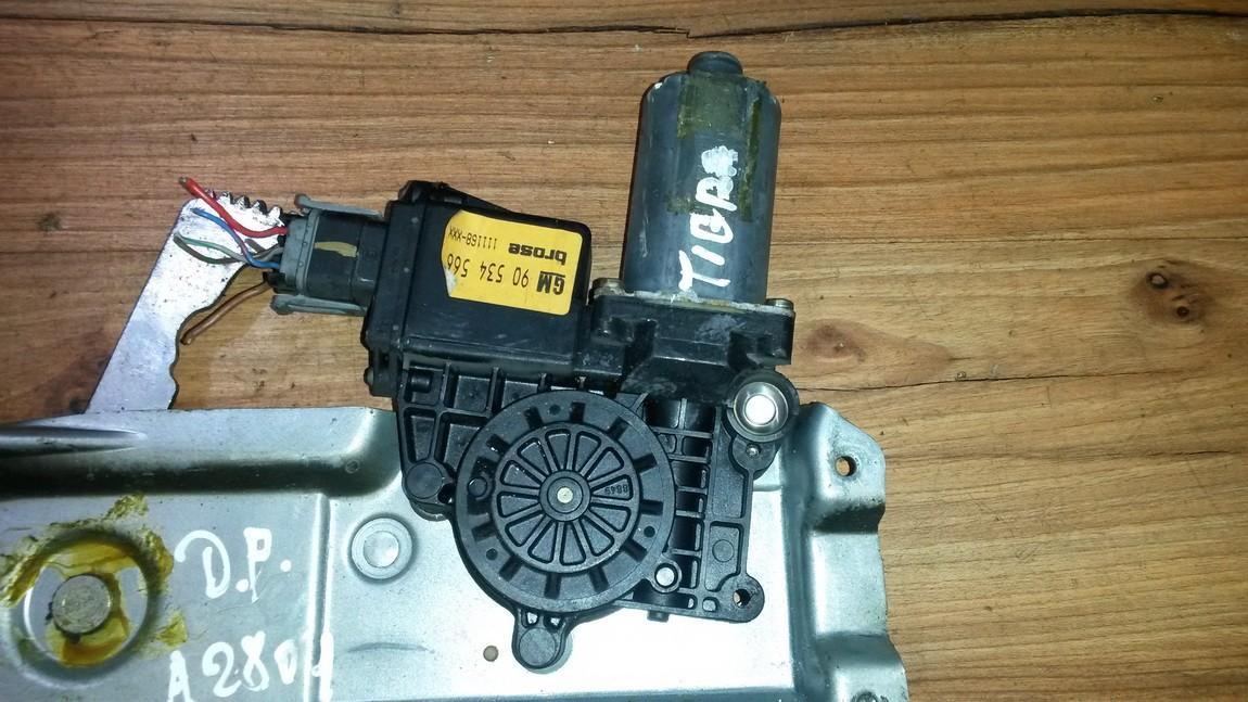 Duru lango pakelejo varikliukas P.D. 90534564 90534566 Opel TIGRA 1995 1.6