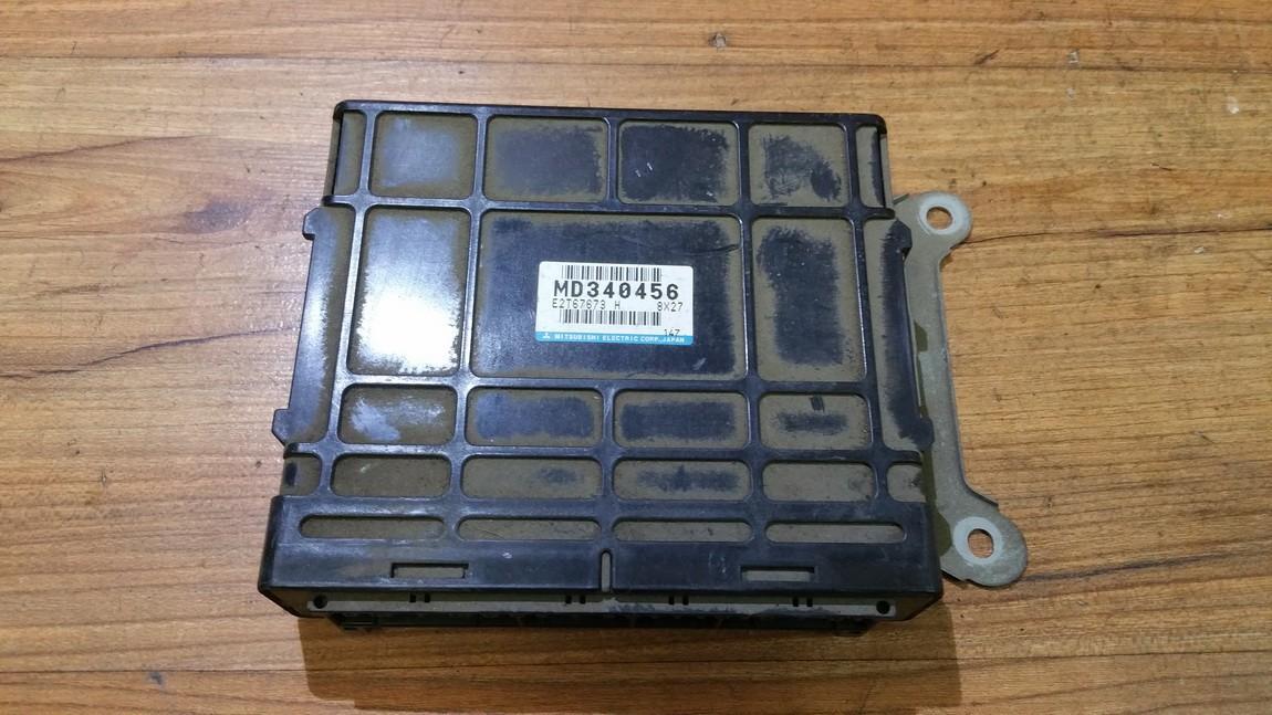 Variklio kompiuteris md340456 e2t67673, 8x27 Mitsubishi GALANT 1998 2.5