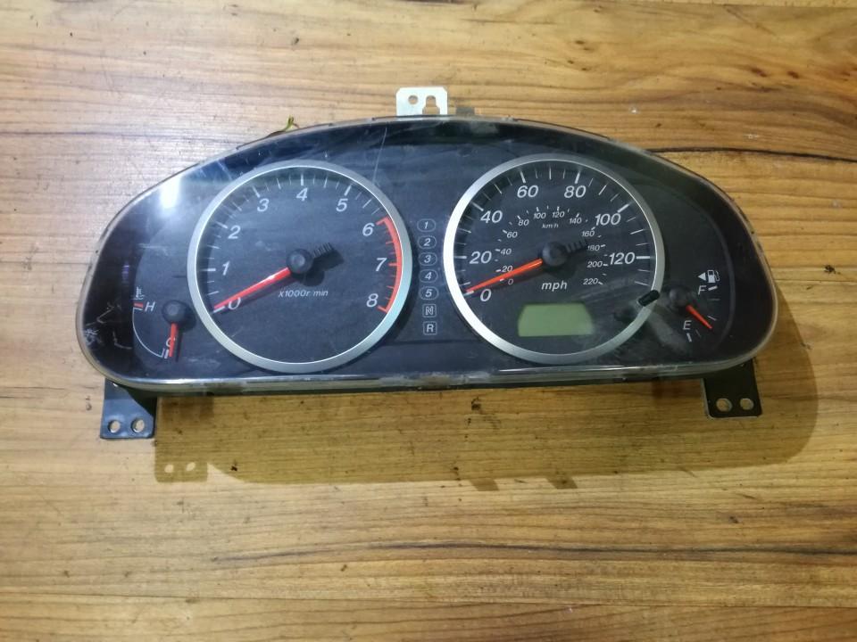 Spidometras - prietaisu skydelis 3M7110849EG DE73 55 430 Mazda 2 2009 1.5
