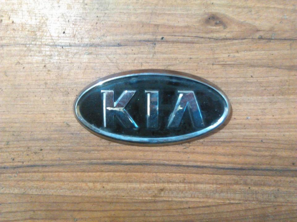 Задние Эмблема Kia Sorento 2005    2.5 nenustatytas