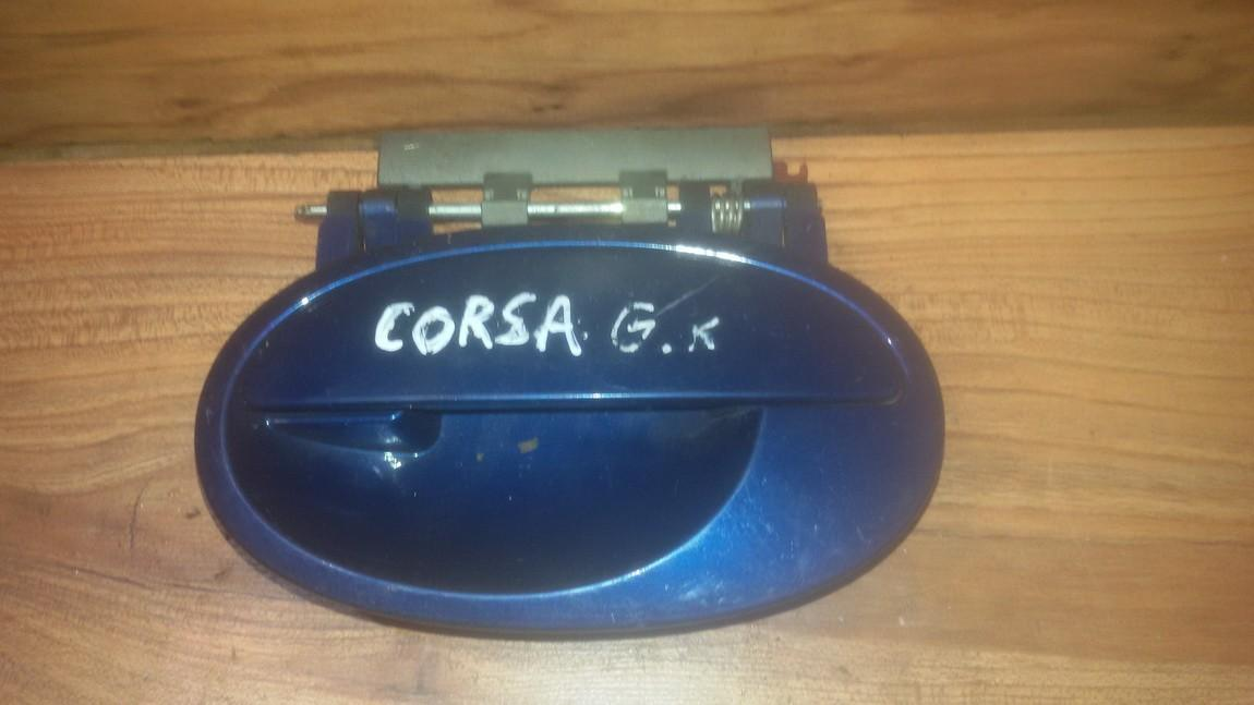 Duru isorine rankenele G.K. NENUSTATYTA nenustatyta Opel CORSA 1994 1.4