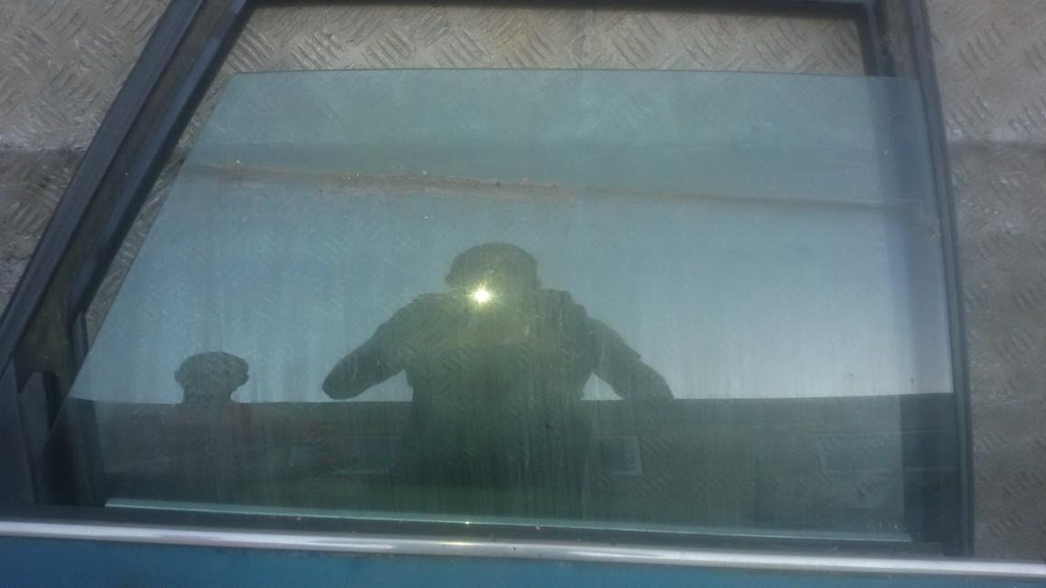 Door-Drop Glass rear right NENUSTATYTA NENUSTATYTA Audi 100 1985 2.0