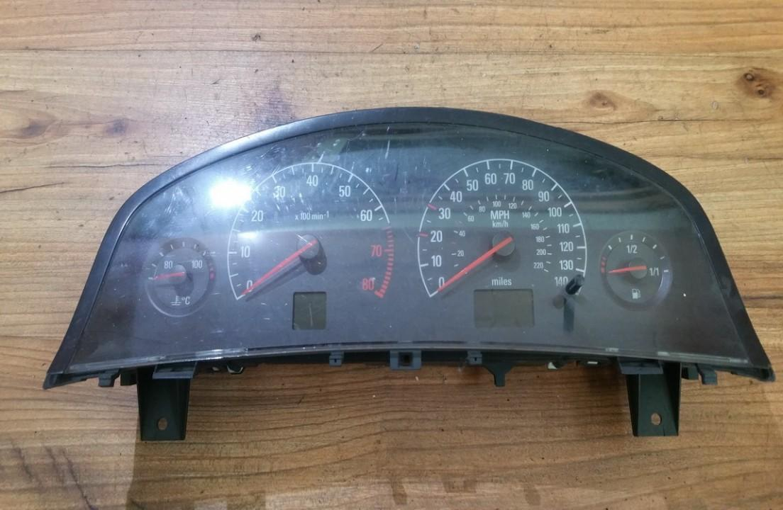 Spidometras - prietaisu skydelis 09180276WE 241002 Opel VECTRA 1997 2.0