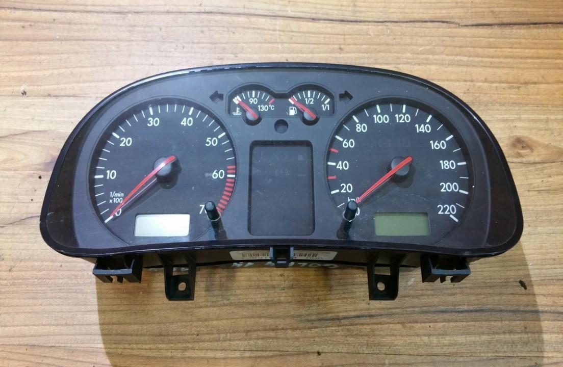 Spidometras - prietaisu skydelis 1j0919860 mmo, 0263604001 Volkswagen GOLF 1992 1.4
