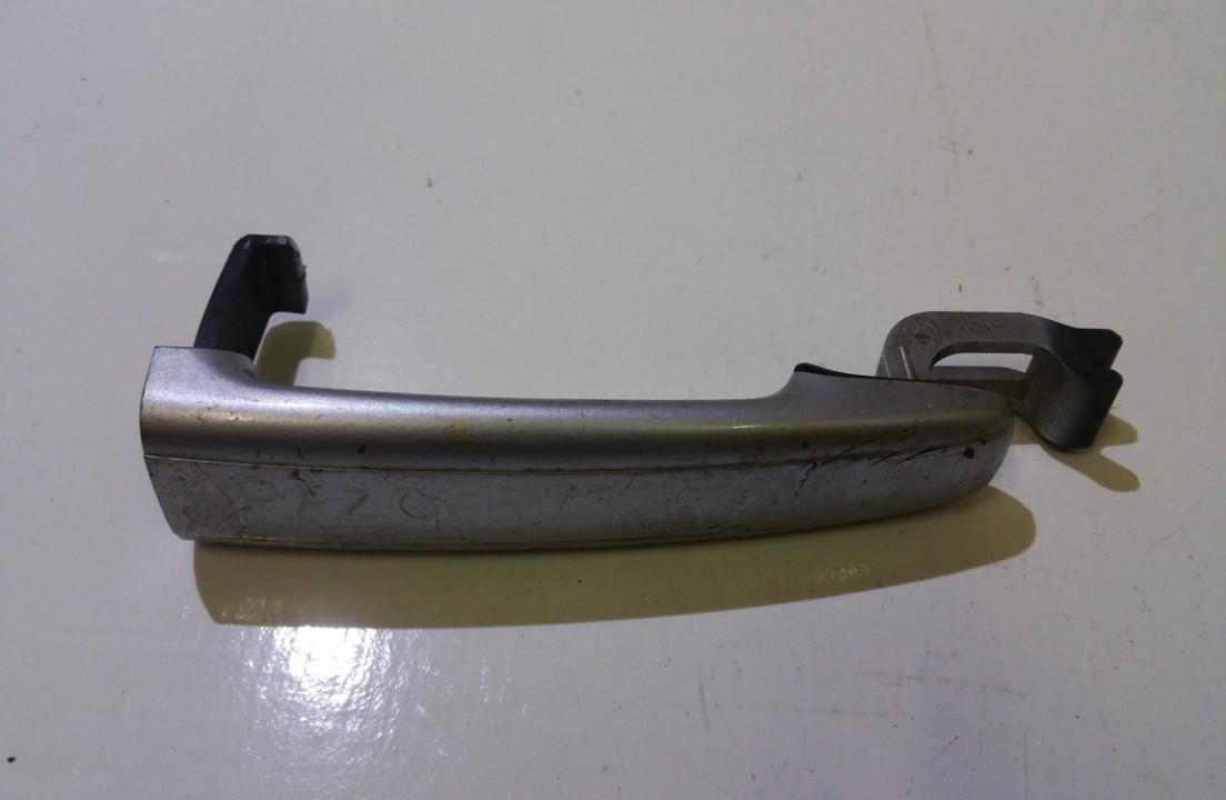 Door Handle outside R - front right side Peugeot  307, 2000.08 - 2005.06