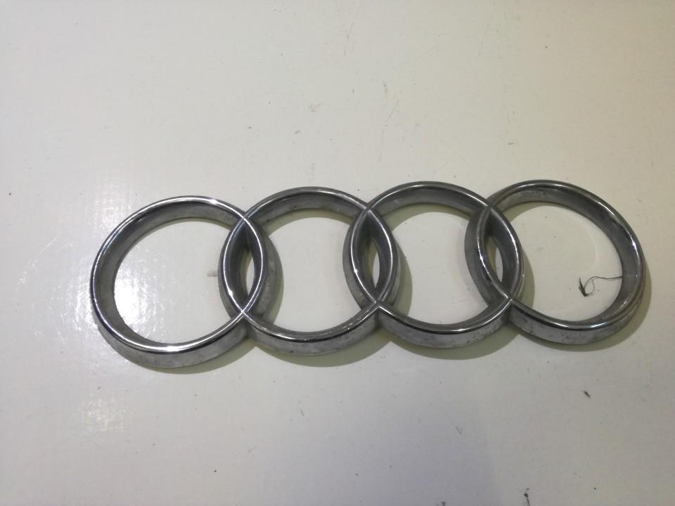 Передние Эмблема 893853605 NENUSTATYTA Audi 100 1985 2.0
